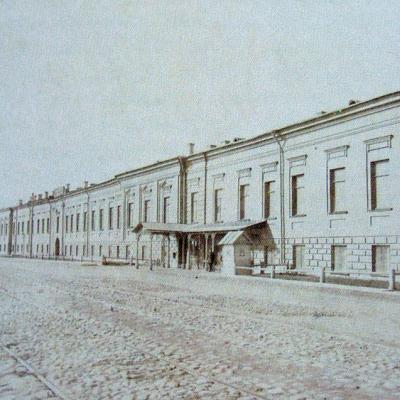 Фасад Императорского фарфорового завода