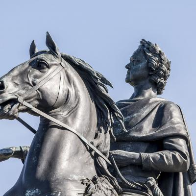 Памятник медный всадник в Санкт-Петербурге
