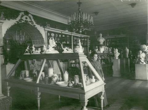 Выставка изделий завода