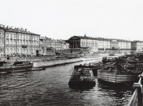 Шереметевский дворец. Фонтанка