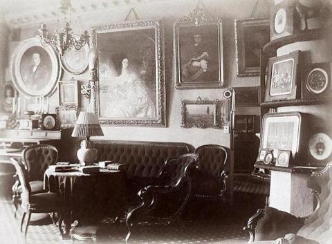 Гостиная в Шереметевском дворце на Фонтанке