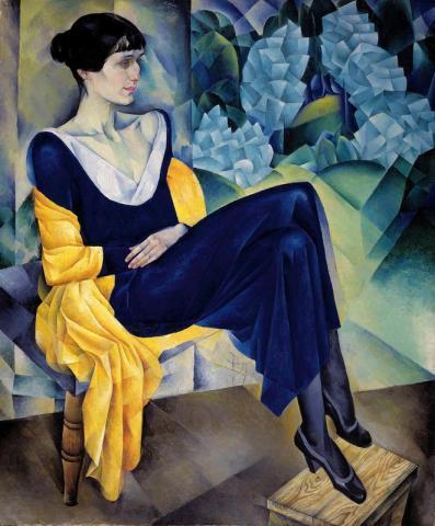 Портрет А. А. Ахматовой, 1914 год. Русский музей
