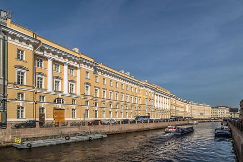 Восточный фасад Главного штаба